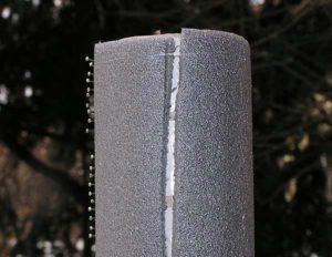 Поводочница из трубы и изоляции1