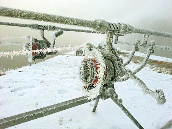 фидерная снасть зимой