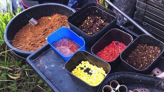 Ингредиенты для изготовления прикормки