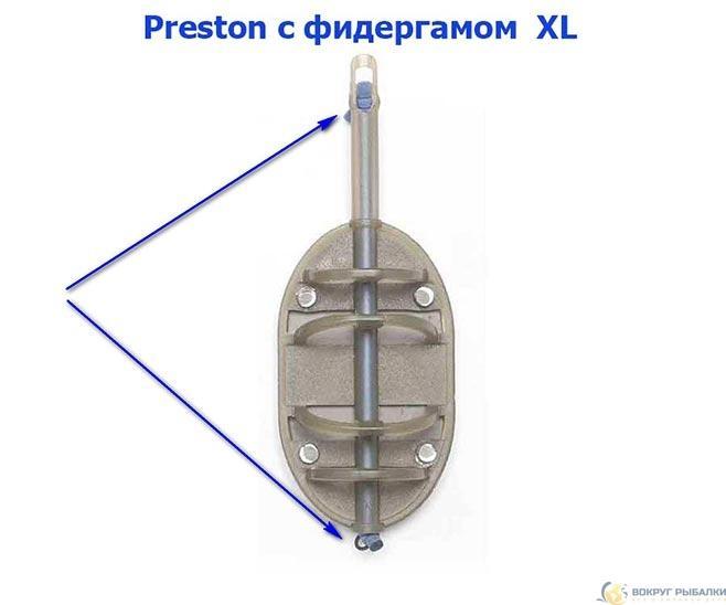 Престон с фидергамом размер XL