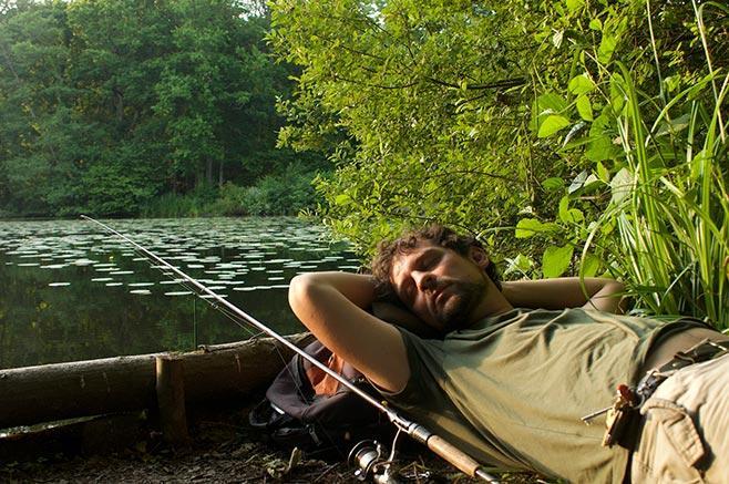 утро рыбака