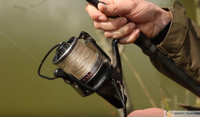 катушки для ловли методом
