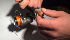 Ручка рыболовной катушки