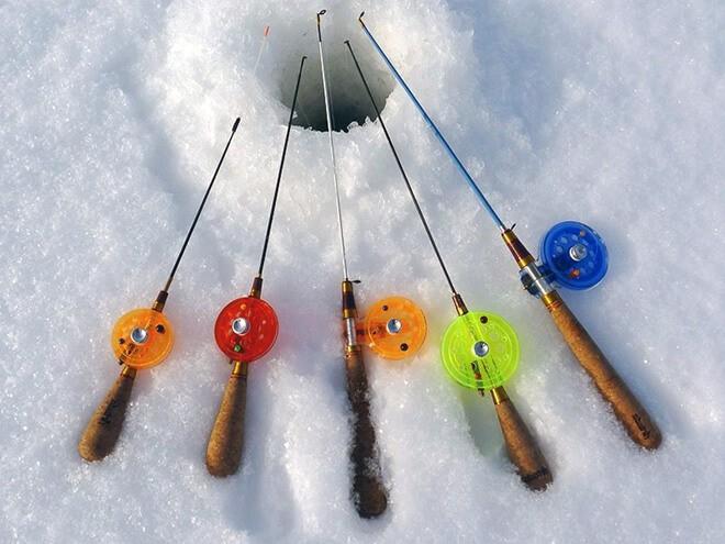 Удочки для ловли на балансир зимой